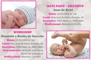 WORKSHOP E BATE PAPO AMAMAE 22.03