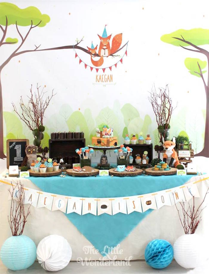 Colorful-Woodland-Birthday-Party-via-Karas-Party-Ideas-KarasPartyIdeas.com5_