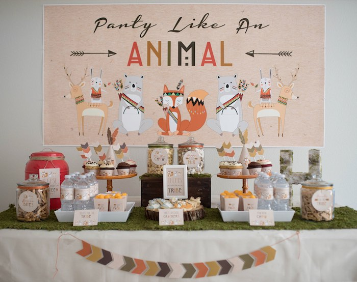 Woodland-Animal-Birthday-Party-via-Karas-Party-Ideas-KarasPartyIdeas.com1_